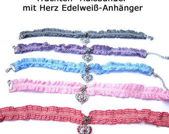 Bavarian Necklace Dirndl Necklace Oktoberfest Bavarian