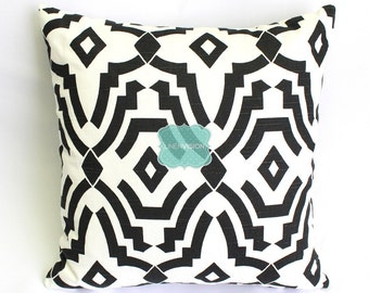Premier Prints Pillow Cover - SHEFFIELD - Shadow Black - Home Decor Decorative Sofa Throw Pillow-Covers with Zipper Enclosure - All Sizes