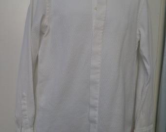 Vintage 80's White GIANFRANCO FERRE Men's Dress Shirt (available)