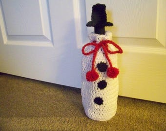 Wine Bottle Holiday Cozy
