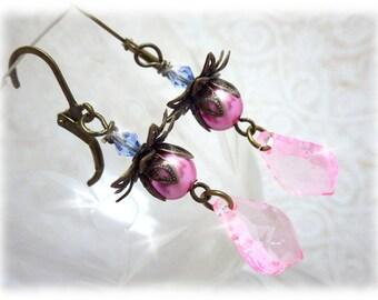 Marie Antoinette - earrings drop earrings with baroque motif in vintage style Vintage Lys