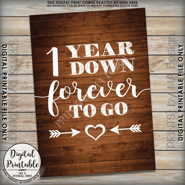 1 year down forever to go wedding anniversary gift wedding gift gallery photo gallery photo gallery photo stopboris Choice Image