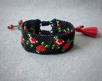 Peyote bracelet - Boho style