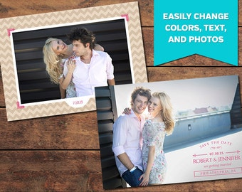Elated Save the Date Template