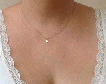Hamsa necklace - Hamsa Hand Necklace - Gold Hamsa Necklace - Tiny Hamsa Pendant Necklace,luck necklace- 012
