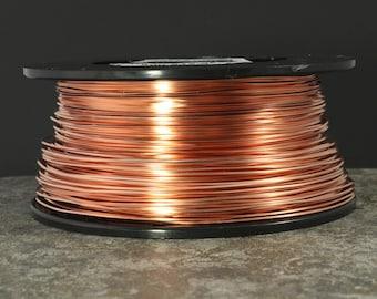 19 Square Half Hard, Copper Wire, 19 Gauge Square Wire, Wire for Cabochons