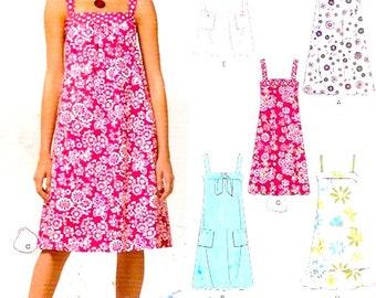 Summer Sunshine dress multi size resort vacation beach style sewing pattern New Look 6888 Size 6 to 16 UNCUT