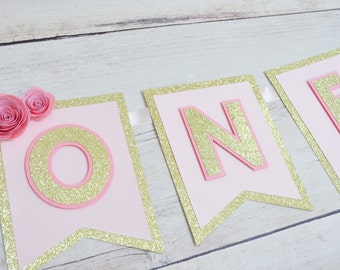 First Birthday Party High Chair Banner