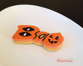 Fake Halloween Cookie Boo Cookies Halloween Candy Faux Cookies Boo Cookie