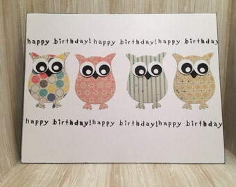 Happy Birthday Card//Handmade Card