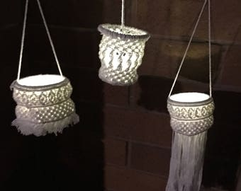 Mini Macrame Lanterns