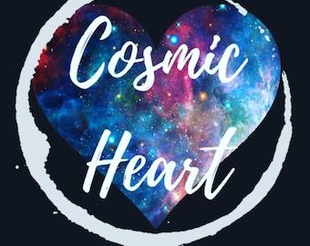 Cosmic Heart Print