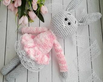 Pink Dress Bunny