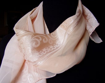 Vintage Scarf - Fashion - Soft Pink