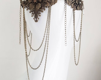 renaissance headpiece- statement jewelry