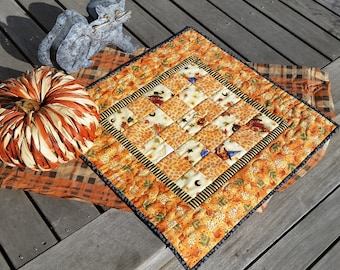 Halloween quilt/table top or wall quilt