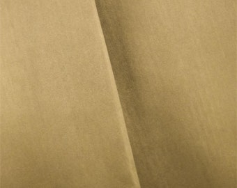Metallic Brass Faux Leather, Fabric By The Yard