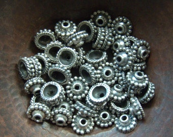 Sterling Bead Caps