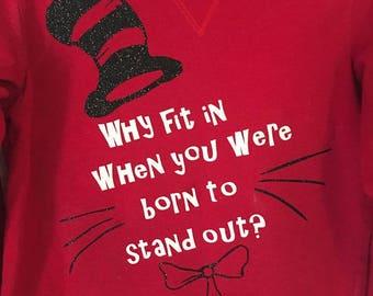 Custom T-shirt, Kids, Adult,Dr. Seuss, Basketball
