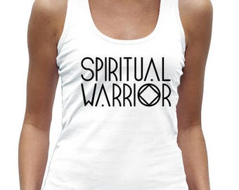 SALE** 50% OFF - Spiritual Warrior Racer Back