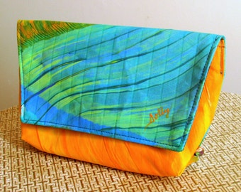 Hand crafted Abstract Clutch