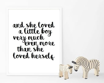More Than She Loved Herself Girl/Boy versions