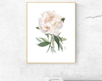 Flower print etsy white flower printable floral printable floral art print flower art print floral wall art white flower print mightylinksfo
