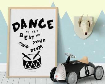 Monochrome kids decor, monochrome Nursery Decor, Nursery wall Art, Nursery Art Print, Scandi Kids Decor, Scandinavian art prints, scandi art