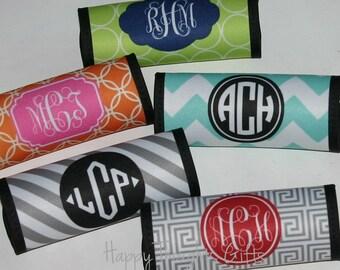 Luggage Handle Wrap Monogram - Travel Accessories - Luggage Finder - Monogram Personalized Gift Graduation Gift