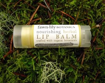 Nourishing Herbal Lip Balm - made from Botanicals