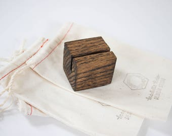 Wood Photo Holder - Photo Stand - Wooden Art Print Stand - Print Display - Photo Holder - Card Holder -
