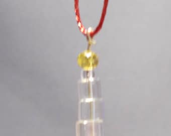 Beaded Candle Ornament - Small