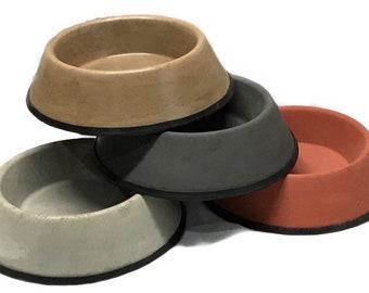 Medium Concrete Dog / Cat Food / Water / food bowl  Medium