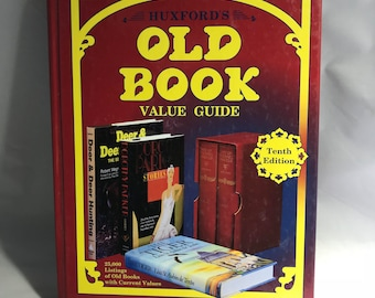 Huxford 10th Edition Old Book Value Guide 1998 Reference
