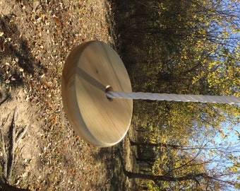 Handmade Round Tree Swing