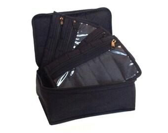 Yazzii 4-Pocket Organizer - BLACK