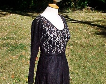 Ballroom Gown, Black Lace, Costume, Crystals, Skirt, Separates, Size Medium, Dance, Formal, Goth,Princess,Halloween, Black, Free US Shipping