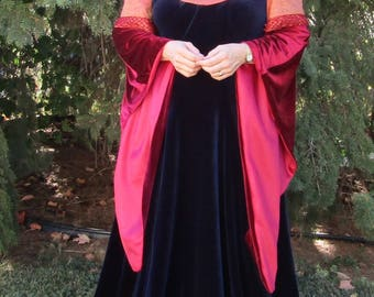 Costume, Adult, Ren Fair, Elvish, Arwen LOTR, Faerie, Cosplay Dress CUSTOM ORDER