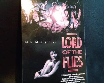 LORD Of The FLIES (1990)  Repurposed Vhs Sleeve To Unique Notebook, Choose Lined Or Unlined Paper, Sketch Book, Great Gift Idea!