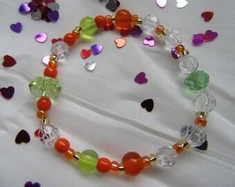 Orange Blossom Bracelet