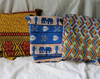 Crossover Bag made with Malawian Fabric