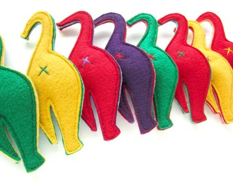 NEW CHRISTMAS COLORS!! Nip-in-the-Butt Cat Butt Handmade Catnip Cat Toy