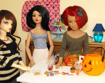 Filled Pumpkin Trick or Treat Halloween Bucket