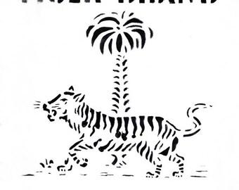 Limited edition poster Tiger - Design