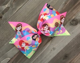 """Mermaids Under The Sea 7"""" Bow"""