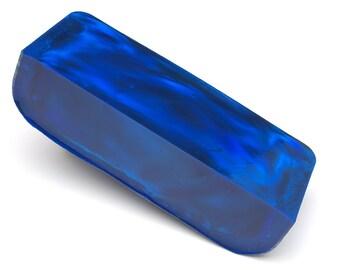 Aurora Opal - 170.54 g, Rough Opal, Opal for Opal Jewellery, Opal Carvings or Opal Inlays (Lab Created Opal, Dark Blue Opal)