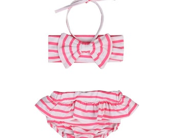 Cameron striped bikini