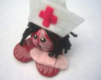 Mini Marble Friends-The Nurse Will See You Now