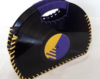 Vinyl Record Handbag