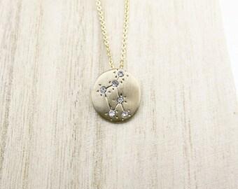 Zodiac Necklace (balance) COFA12019 Choker